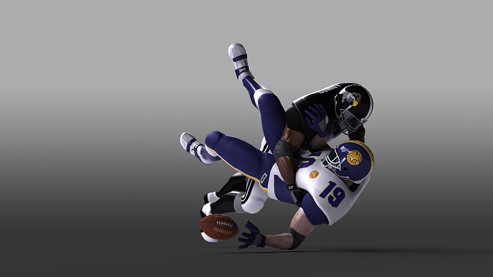 Image from Backbreaker Demo