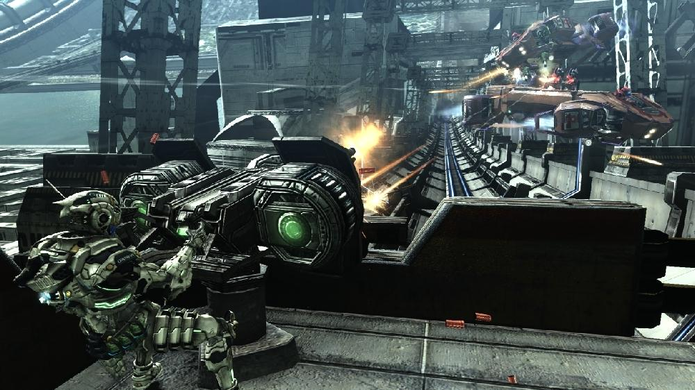 Bild från VANQUISH OFFICIAL DEMO – VELOCITY ATTACK