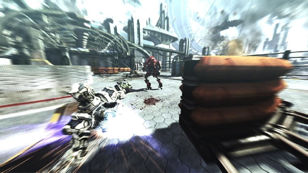 Image from VANQUISH OFFICIAL DEMO – VELOCITY ATTACK