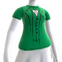 Green Tuxedo T-shirt