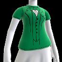 T-shirt smoking vert