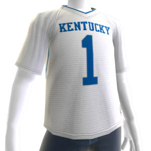 Kentucky White Football Jersey