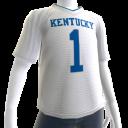Kentucky White Football Jersey