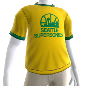 Supersonics Hardwood Classic Tee