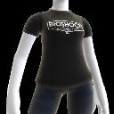 Camiseta con logo de BioShock 2