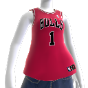 Chicago Bulls NBA2K10-Trikot