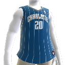 Colete NBA2K10: Charlotte Bobcats