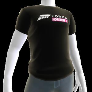 Male Black Forza Horizon 3 Shirt