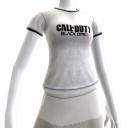 COD: Black Ops II Logo Shirt White - Female