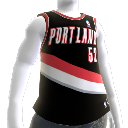 Maglia Portland Trail Blazers NBA2K10