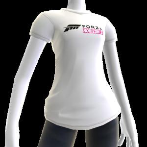 Female White Forza Horizon 3 Shirt