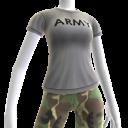Camiseta del Ejército