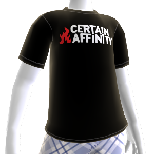 Tshirt: Certain Affinity logo