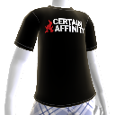 T-shirt: logótipo Certain Affinity