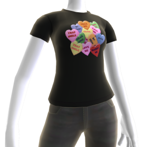 Valentine's - Candy Hearts Tee