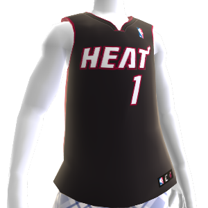 Miami Heat NBA2K12 Jersey