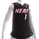 Miami Heat NBA2K12-trui
