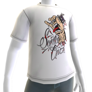 Tattoo Hand Tee - White