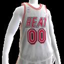 1988-1999 Heat Home Jersey