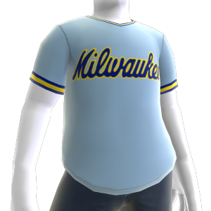 Maillot rétro Milwaukee Brewers