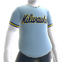 Camisa retro Milwaukee Brewers