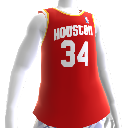Maillot NBA2K13 rtro Rockets 93-94