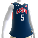 USA 2012 NBA 2K13 Jersey