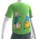 Finn, Jake, Fionna, and Cake GenderSwap T-shirt