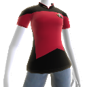 Starfleet command officer T-shirt