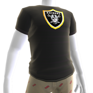 Raiders Gold Trim Tee