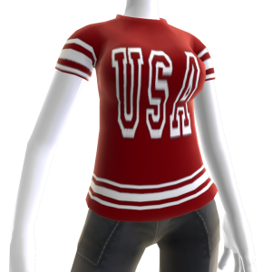 USA Soccer Jersey Red