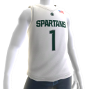 Michigan State Basketball Home Jersey