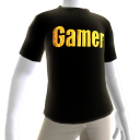 Black Gamer Gold SS Shirt