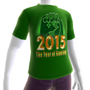 2015 Year of Gaming Green Tee