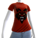 T-shirt Red Lynx 