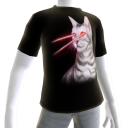 Epic Laser Cat 1 Black T-Shirt