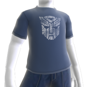 Autobots White Logo T-Shirt