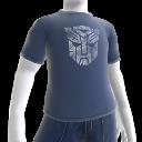 T-shirt bianca con logo Autobot