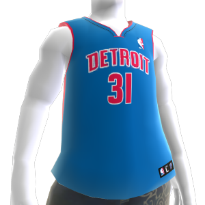Detriot Pistons NBA2K10 Jersey