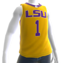 LSU Basketball Home Jersey