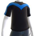 T-Shirt com Logtipo do Nightwing