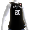San Antonio Spurs NBA2K12 Jersey