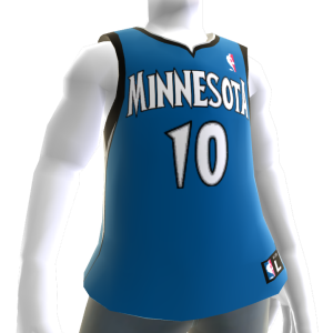 Minnesota Timberwolves NBA2K11-Trikot 