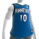 Minnesota Timberwolves NBA2K11 Jersey 