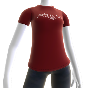 Atticus Double Cross Red t-shirt