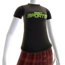 T-shirt fã do Kinect Sports