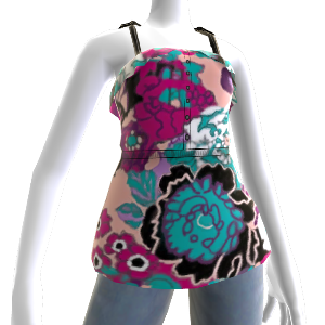 Surf Party Floral Tank 