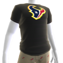 Texans Gold Trim Tee