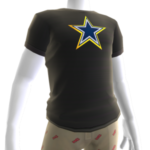 Cowboys Gold Trim Tee