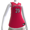 Maillot NBA2K12 Toronto Raptors
